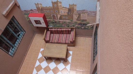 Zaghro Hotel: Hallway