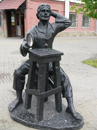 Sculpture Levsha Podkovavshiy Blokhu