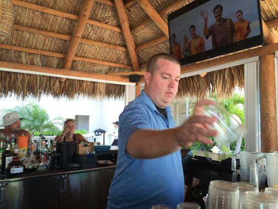 Lido Beach Resort Bartender Tiki Bar