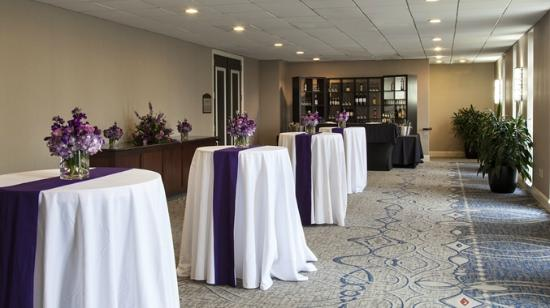 Ballroom foyer with wedding decorations picture of doubletree by doubletree by hilton hotel philadelphia valley forge ballroom foyer with wedding decorations junglespirit Images