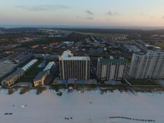 Sundestin Beach Resort Aerial View Of
