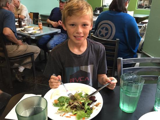 Pangaea Bakery: Lunch with my 10 year old nephew!