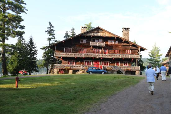 Raquette Lake, NY: Main Lodge