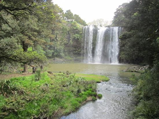 Whangarei, Nueva Zelanda: Below the falls