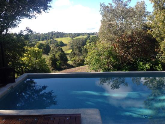 Witta, Australië: Pool and view