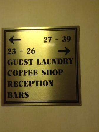 Metropole Hotel: Can you figure out which way room 24 is?