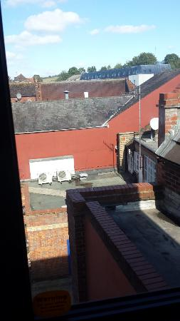 Travelodge High Wycombe Central: Window view
