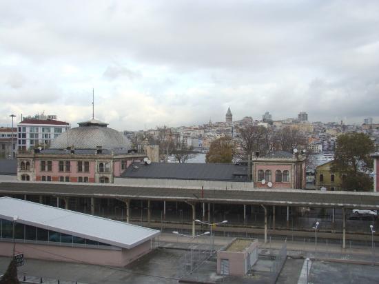 Galata Istanbul Hotel : Вид из номера