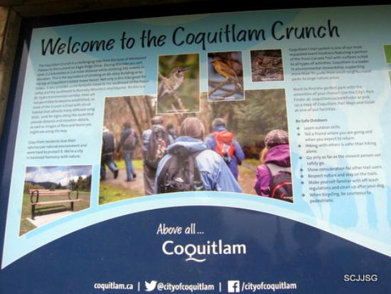 Image result for coquitlam crunch hiking trail