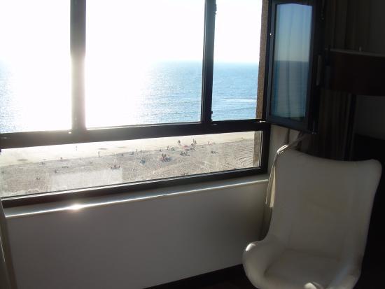 Tryp Cadiz la Caleta Hotel: Vista desde la habitacion