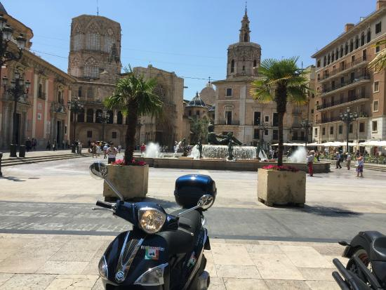 Rent Scooter Valencia