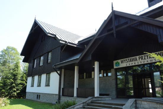 Krościenko nad Dunajcem, Polska: Pieniny Mountains National Park Museum in Kroscienko