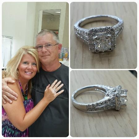 71652e512 Happy Wife, Happy Life! Stunning engagement ring for a stunning ...