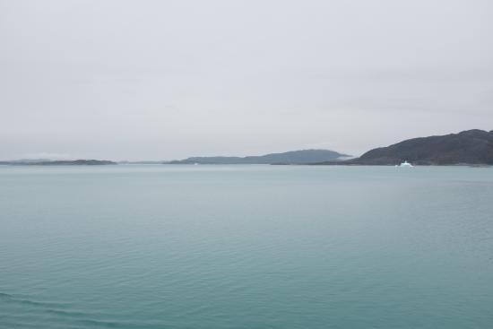 Nanortalik, Greenland: looking towards Cape Farewell, Greenland