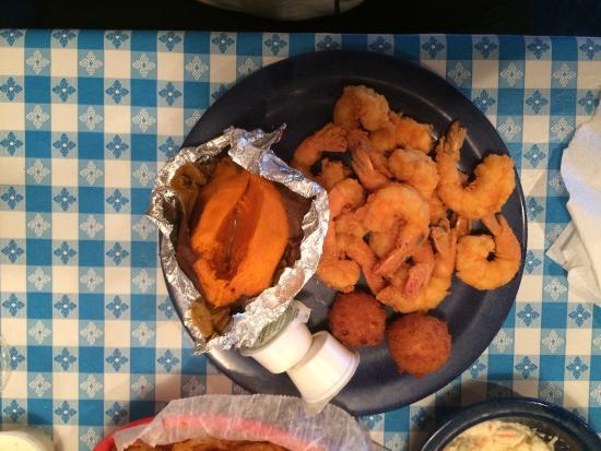 David's Catfish House: Shrimp Dinner