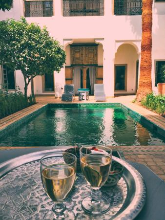 Paradise in Marrakech Old Town
