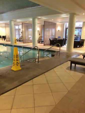 Hotel Indoor Pool Picture Of Hilton Short Hills Short Hills