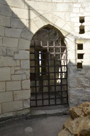 Une Porte Grille Du Château Picture Of Forteresse Royale De - Grille porte
