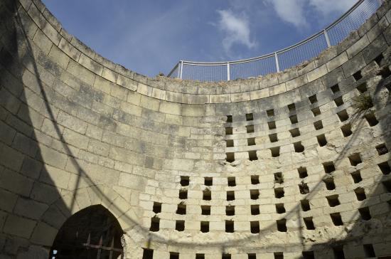 Forteresse royale de Chinon: Un pigeonnier dans la tour