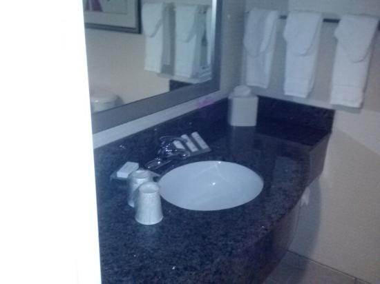Hilton Garden Inn Tifton: sink area