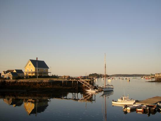 Tidewater Motel: Carver's Harbor, Vinalhaven, ME 9/2015 View from Motel