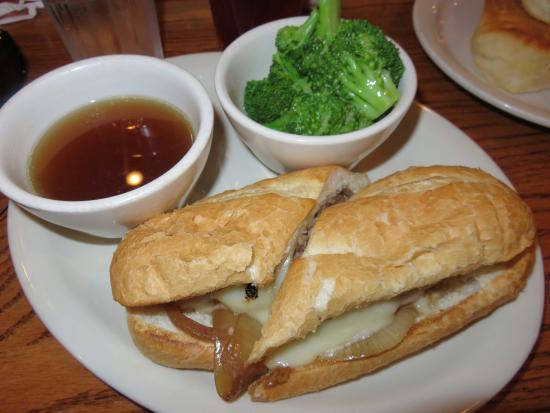 Cracker Barrel: Good sandwich
