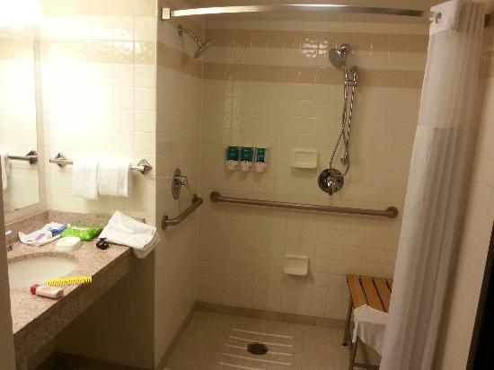 Roll in wheelchair accessible - Picture of Drury Inn & Suites St ...