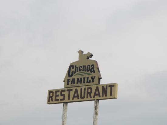 Chenoa Family Restaurant : Sign
