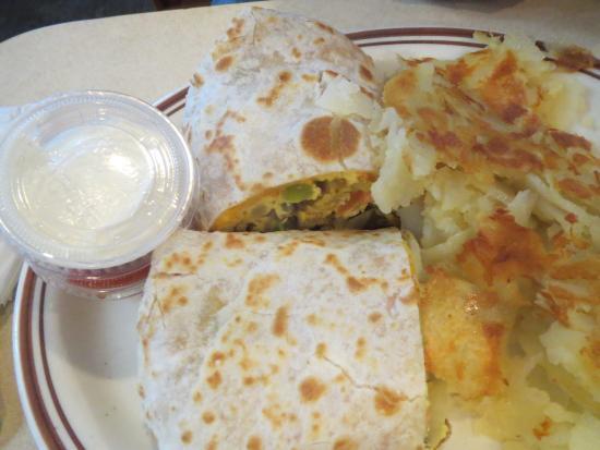 Chenoa Family Restaurant : Breakfast Burrito