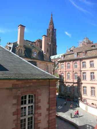 Suisse Hotel: Hotel Suisse, Strasbourg: View from Room Windows