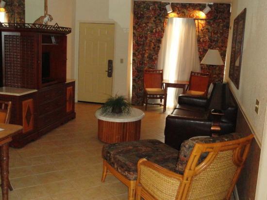 Parkway International Resort: Nice and Comfortable Living Area