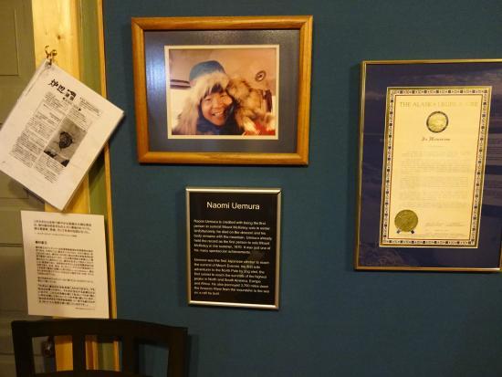 Talkeetna Historical Society Museum : 植村直己の写真