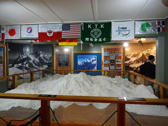 Talkeetna Historical Society Museum : デナリ関連の展示