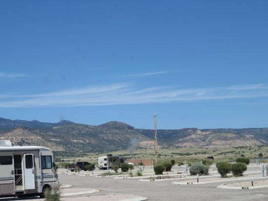 San Fidel, نيو مكسيكو: RV park view