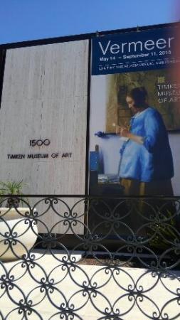 Timken Museum of Art: ティムケン美術館でフェルメール展