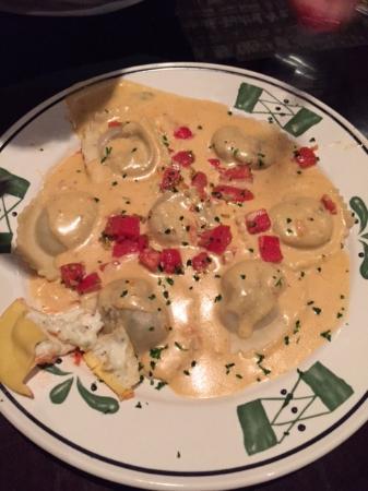 Ravioli De Champignon Sem Pimenta E Sensacional Picture Of Olive Garden New York City