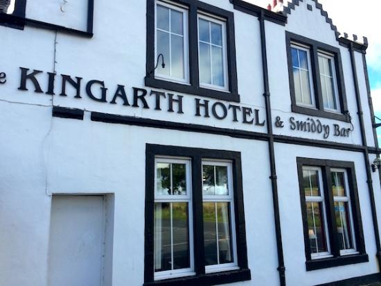 Kilchattan Bay, UK: Exterior of hotel
