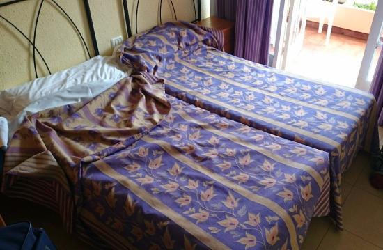 Globales Acuario: Zimmer mit Bett