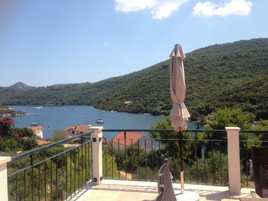 Zaklopatica, โครเอเชีย: The terrace view