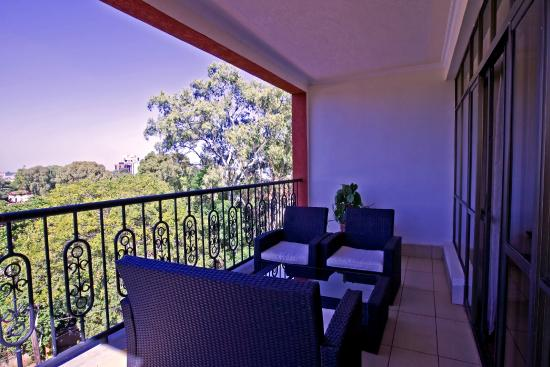 GemSuites State House : The balcony