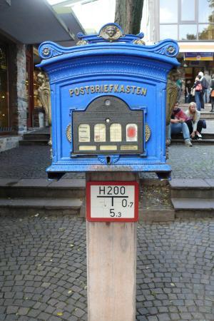 Ruedesheim am Rhein, Alemania: Kotak Pos