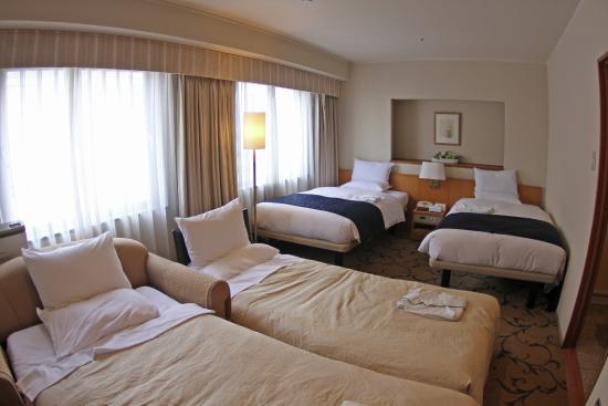 Hotel Rose Garden Shinjuku: Family/quadruple Room Bedroom Design Ideas