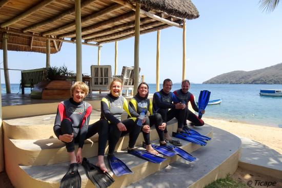 Danforth Yachting : first diving for all and it was perfect