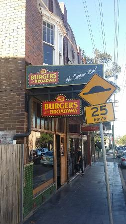 Burgers On Broadway