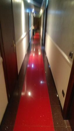 Albergo Piave: corridor