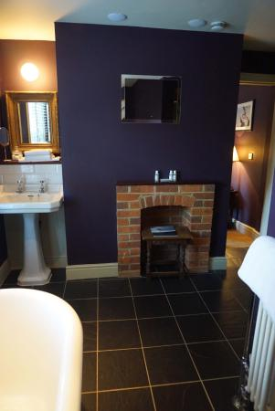 East Garston, UK : Queen's Arms, lovely room Hardy