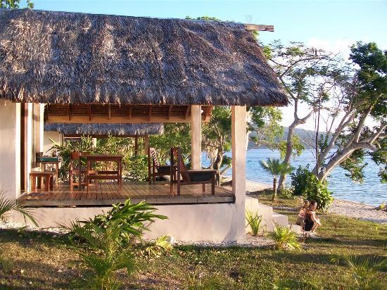 Havannah Eco Lodge : New bungalow deck