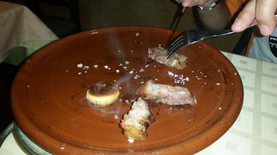 Meson Navarro II: Carne a la piedra