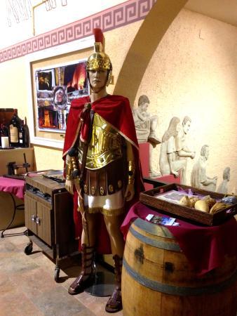 Les Voltes: Roman soldier as sentinel