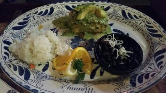 Manny's Cocina: Veracruz Snapper and Sea Bass with Avocado  Sauce